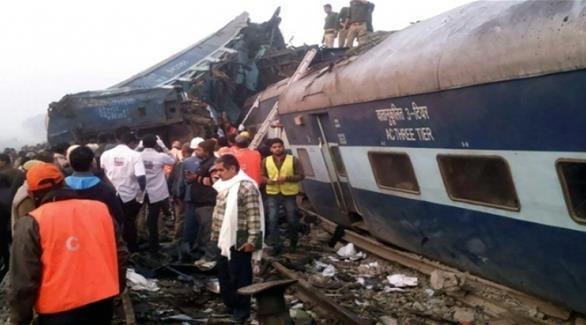 الهند: ارتفاع حصيلة ضحايا حادث القطار إلى 142 قتيلاً