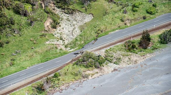 زلزال بقوة 6.3 درجة يضرب وسط نيوزيلندا