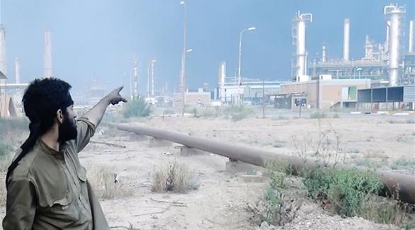 مسؤول عراقي يطالب قوات الحشد الشعبي بإخلاء مصفى بيجي
