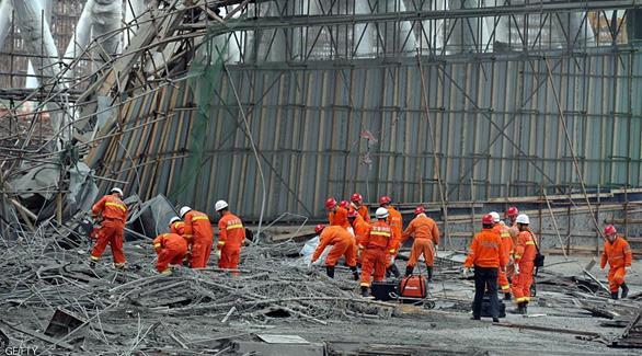 اخبار الامارات العاجلة 0201611250846688 الصين: ارتفاع عدد ضحايا انهيار المنصة لـ 74 قتيلاً أخبار عربية و عالمية