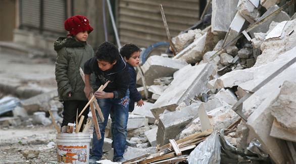 فرار 400 مدني إلى مناطق سيطرة النظام في حلب