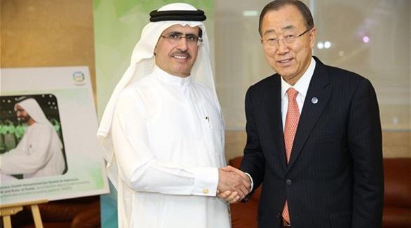 بان كي مون يشيد برؤية محمد بن راشد في تعزيز التنمية المستدامة