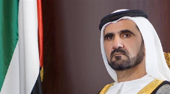 محمد بن راشد يستقبل رئيس الوزارء القطري