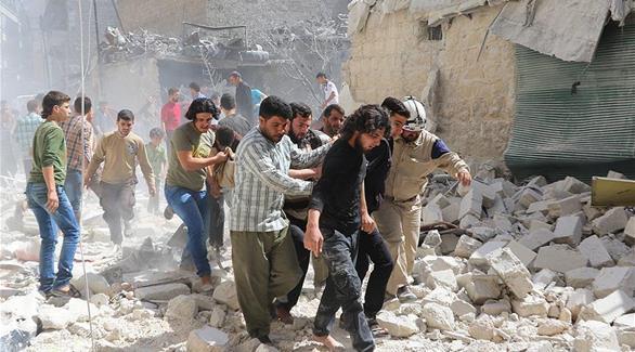 اخبار الامارات العاجلة 0201611300120798 سوريا: النظام يستهدف النازحين من حلب ويرتكب مجزرة جديدة أخبار عربية و عالمية