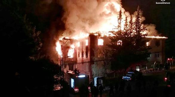 اخبار الامارات العاجلة 0201611300757698 تركيا: اعتقال 6 أشخاص بعد مقتل تلميذات في حريق بمقر سكنهم أخبار عربية و عالمية