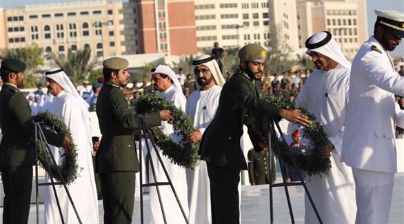 محمد بن راشد: الشهداء جمعوا اليوم حكام الإمارات وشعبها على قلب واحد