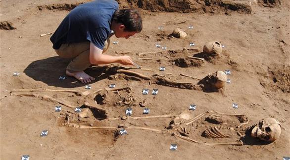 اخبار الامارات العاجلة 0201611301031576 اكتشاف أول مقبرة جماعية لضحايا الطاعون خارج لندن أخبار عربية و عالمية