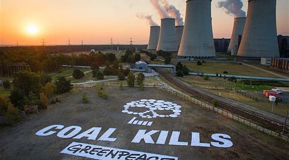 منظمة السلام الأخضر تناشد ميركل إقناع ترامب بحماية المناخ
