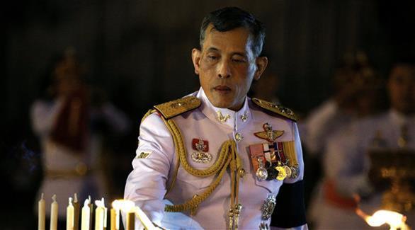 إعلان ولي عهد تايلاند ملكاً للبلاد