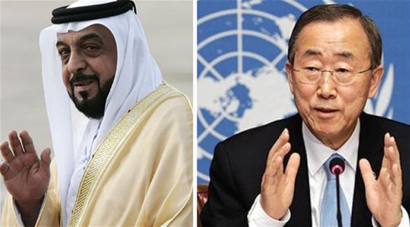 يثمن مواقف رئيس الإمارات لتعزيز