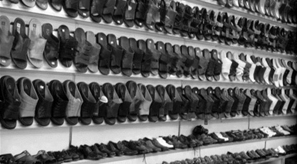 d608f32ab 9 أحذية من أحد المحلات طبع عليها لفظ الجلالة (صورة تعبيرية)
