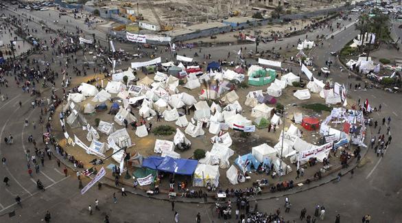 بوابات حديدية مداخل ميدان التحرير