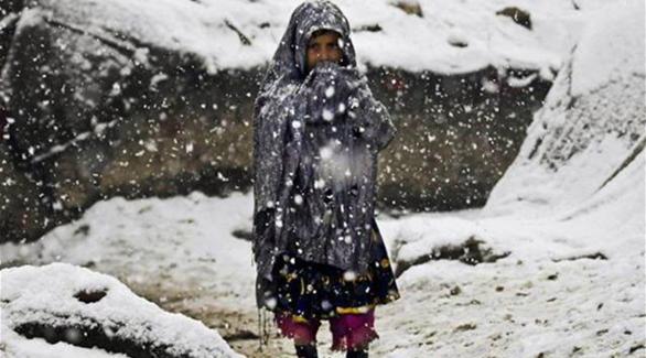ارتفاع ضحايا العاصفة الثلجية الأطفال