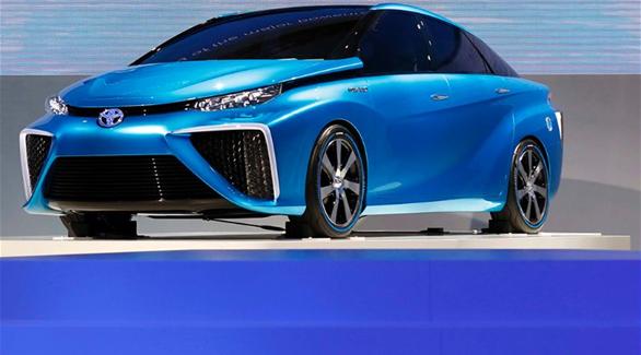 تويوتا تطرح بالأسواق سيارات وقود