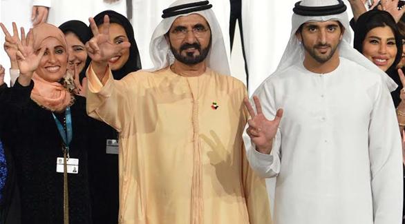 بالصور| محمد راشد: الإمارات لديها