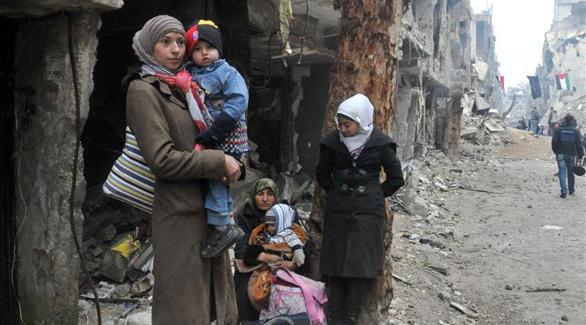 سوريا: انتهاء إدخال المساعدات مخيم