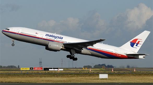 الطائرة الماليزية: بقعتي قبالة شاطئ