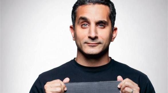 باسم يوسف يحتج على وقف البرنامج في اجتماع مع إم بي سي