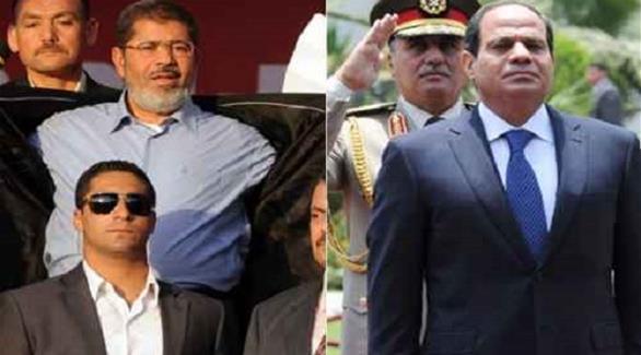 """فروق """"اليمين الدستورية"""" """"السيسي"""" """"مرسي"""""""