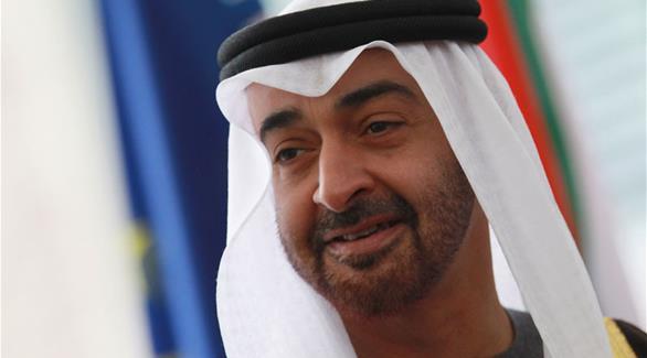 محمد زايد يشهد توقيع اتفاقية