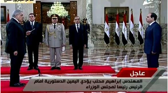 مصر: حكومة محلب الجديدة تؤدي