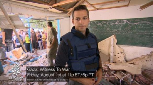 """مراسل """"الجزيرة"""" يرشد الإسرائيليين مواقع 201408040827890.Jpeg?3363"""
