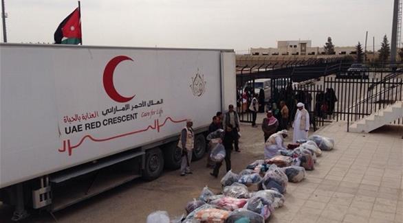 إدخال مساعدات إماراتية ومصرية
