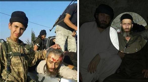 أطفال داعش يلهون برأس صقور 201408140555280.Jpeg