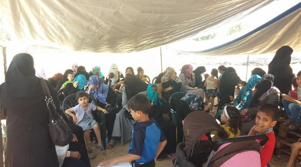 بالصور: المستشفى الميداني الإماراتي في غزة يستقبل 400 مريض يومياً
