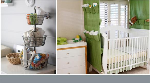 بالصور 15 فكرة بسيطة لتخزين أغراض الطفل الرضيع
