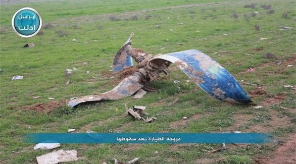 سوريا: مقتل خبراء إيرانيين في تحطم طائرة النقل العسكرية بإدلب