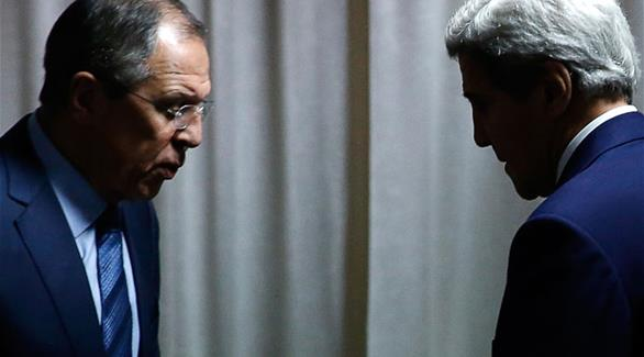 لافروف وكيري يبحثان الأوضاع سوريا