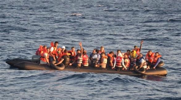 تركيا توقف 42 مهاجراً معظمهم سوريون في بحر إيجه