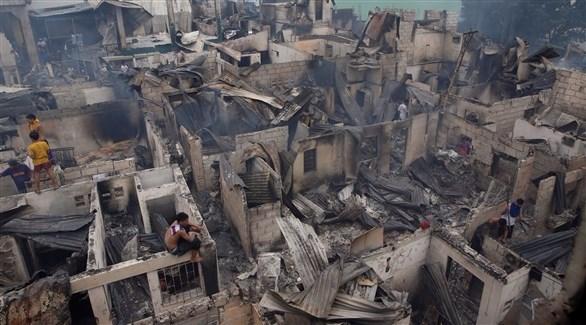 اخبار الامارات العاجلة 20161114134811222WD الفلبين: مصرع 3 وتشرد 6 آلاف في حريق التهم 500 منزل أخبار عربية و عالمية