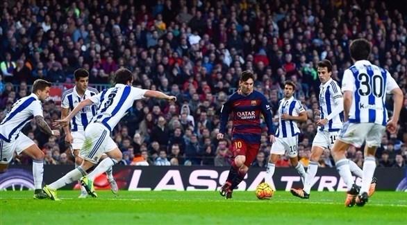 الدوري الإسباني: برشلونة يتطلع لإنهاء عقدة سوسيداد