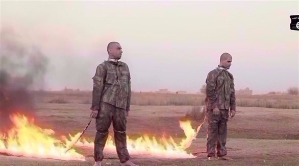 داعش يحرق جنديين تركيين في مدينة الباب السورية  20161223117877N6