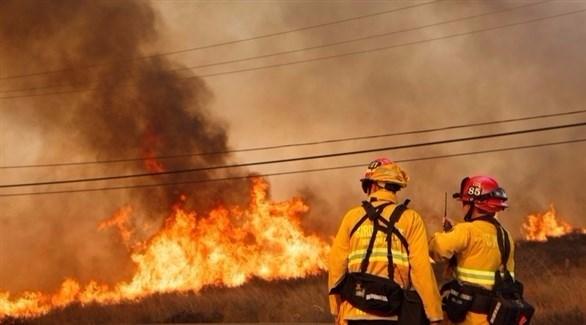 حرائق كبيرة في كاليفورنيا (إ ب أ)