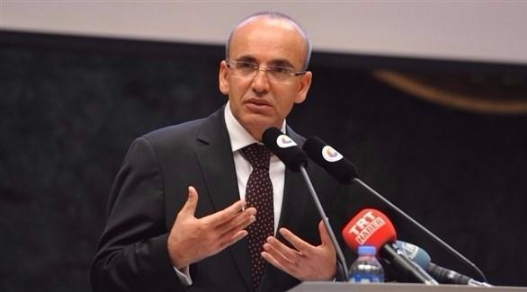 نائب رئيس الوزراء التركي محمد شيمشك (أرشيف)