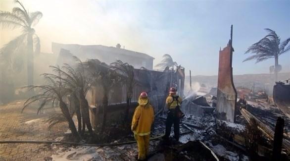 ارتفاع ضحايا حرائق كاليفورنيا إلى 26 قتيلاً