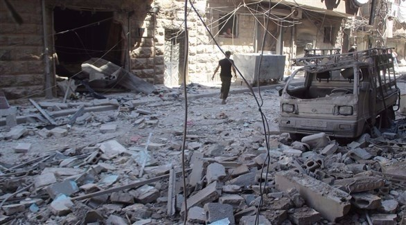 النظام السوري يقصف أحياء في دمشق