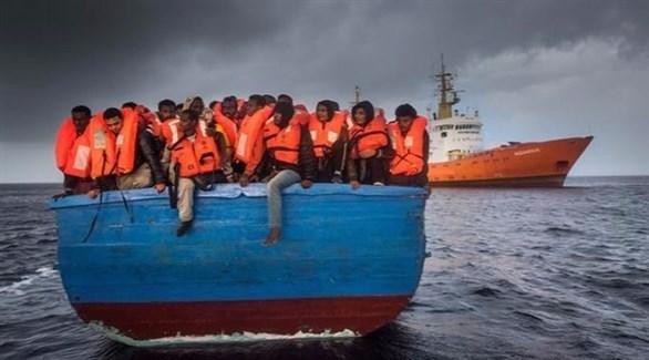 عدد كبير من الأسر الأطفال اللاجئين يصلون إيطاليا