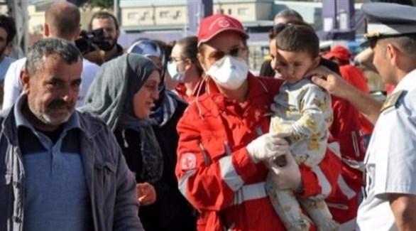 إنقاذ 600 مهاجر في المتوسط ونقلهم إلى إيطاليا