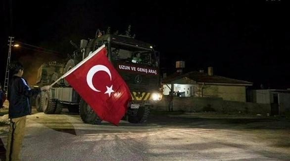 """أول قافلة عسكرية تركية تدخل إدلب بمرافقة """"النصرة"""""""