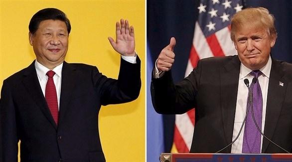 نتيجة بحث الصور عن الرئيس الأمريكي دونالد ترامب قمة مع نظيره الصيني شي جين