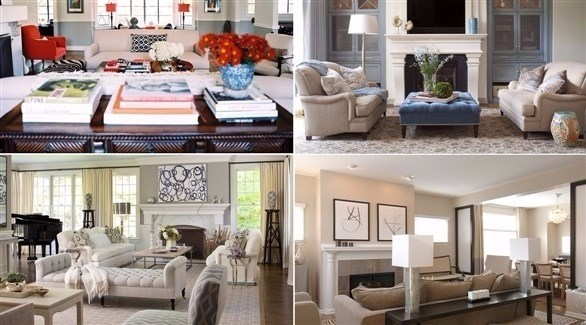 بالصور: أفكار تمنحك الراحة في غرف المنزل الكبيرة