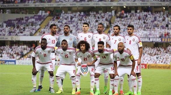 لاعبو منتخب الإمارات (أرشيف)