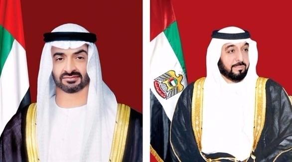 الشيخ خليفة والشيخ محمد بن زايد (أرشيف)