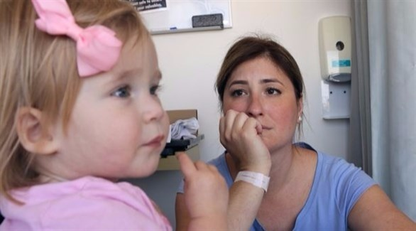 تعاني الطفلة مريان ماكلغلوكلين من مرض أفقدها ذاكرتها (ميرور)