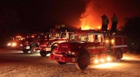 سيارات إطفاء (أرشيف)
