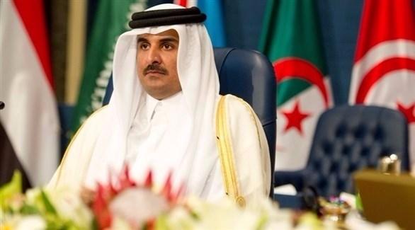 أمير قطر تميم بن حمد (أرشيف)